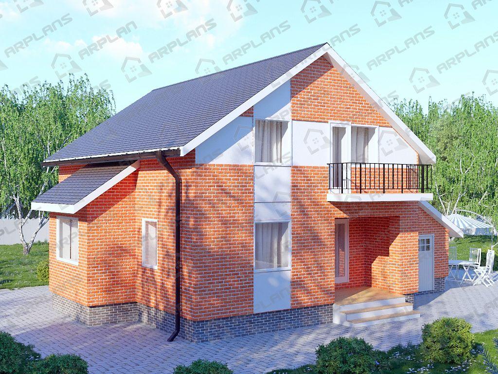 Дом 11х14 «ДП-126»