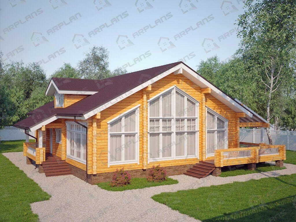 Дом 18x16 «ДОБ-095»