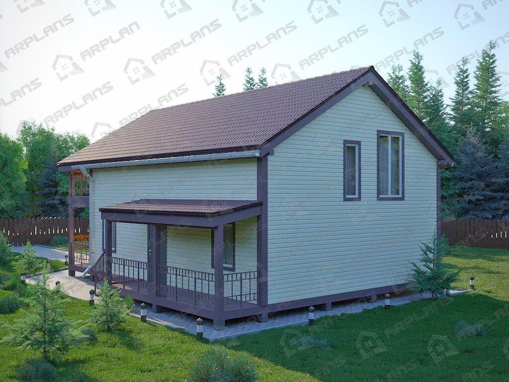 Каркасный дом «Москва»