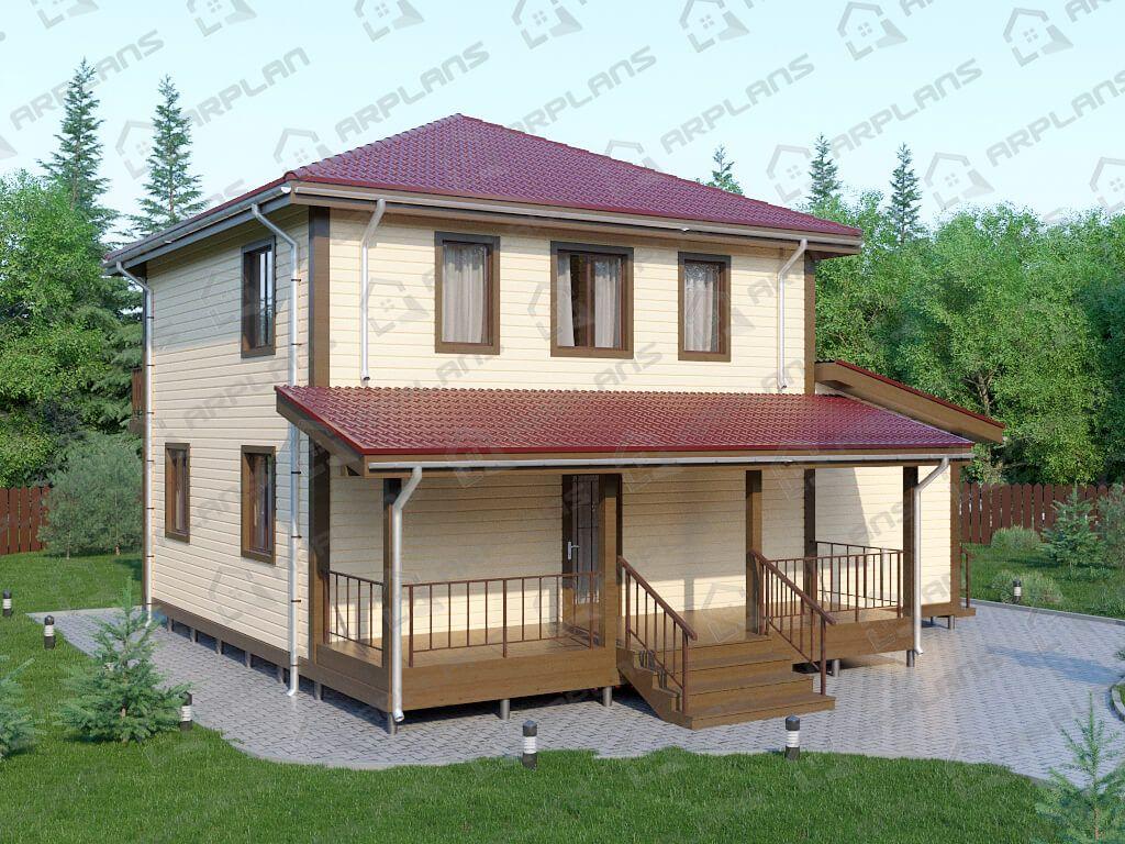 Дом 11х10 «ДК-038»