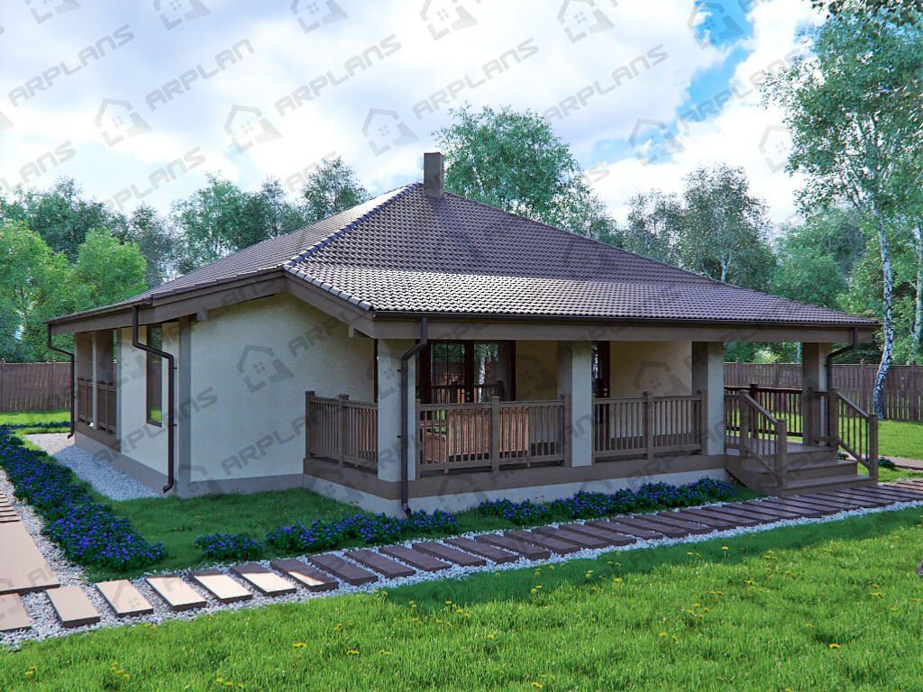 Дом 11x16 «ДП-003»