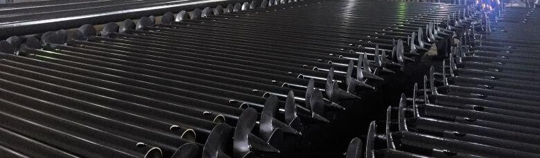 Производство винтовых свай в Ярославле и Москве