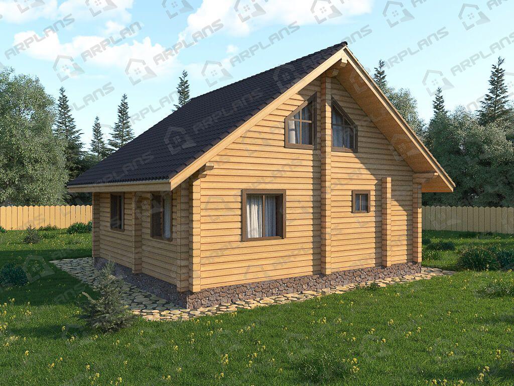 Дом из бруса «Богородицк»