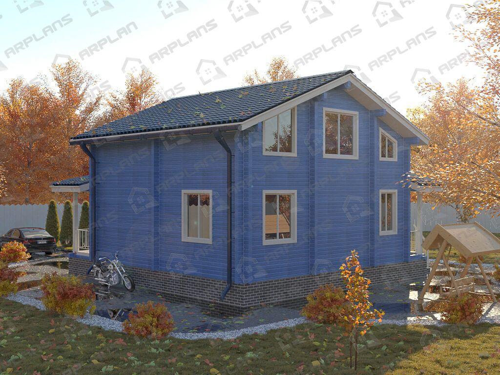 Дом 10x10 «ДОБ-028»