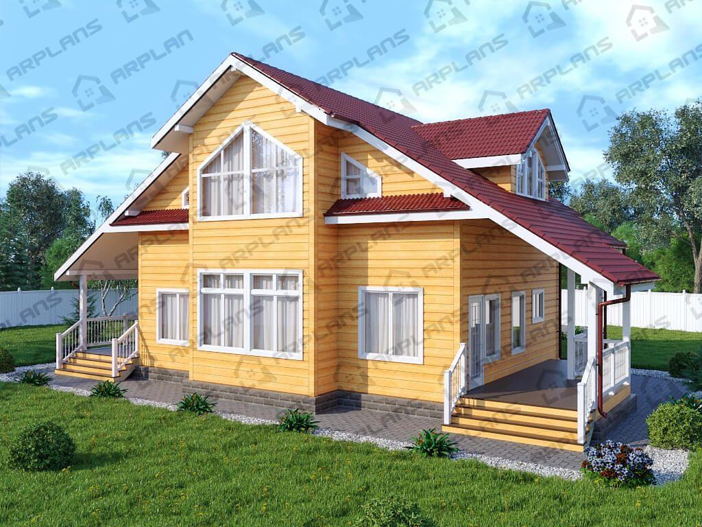 Дом 16х10 «ДК-012»