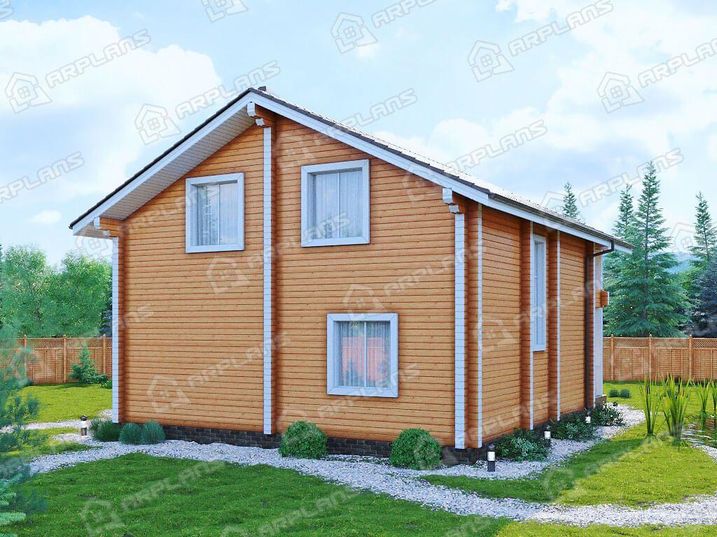 Дом из бруса «Переславль»