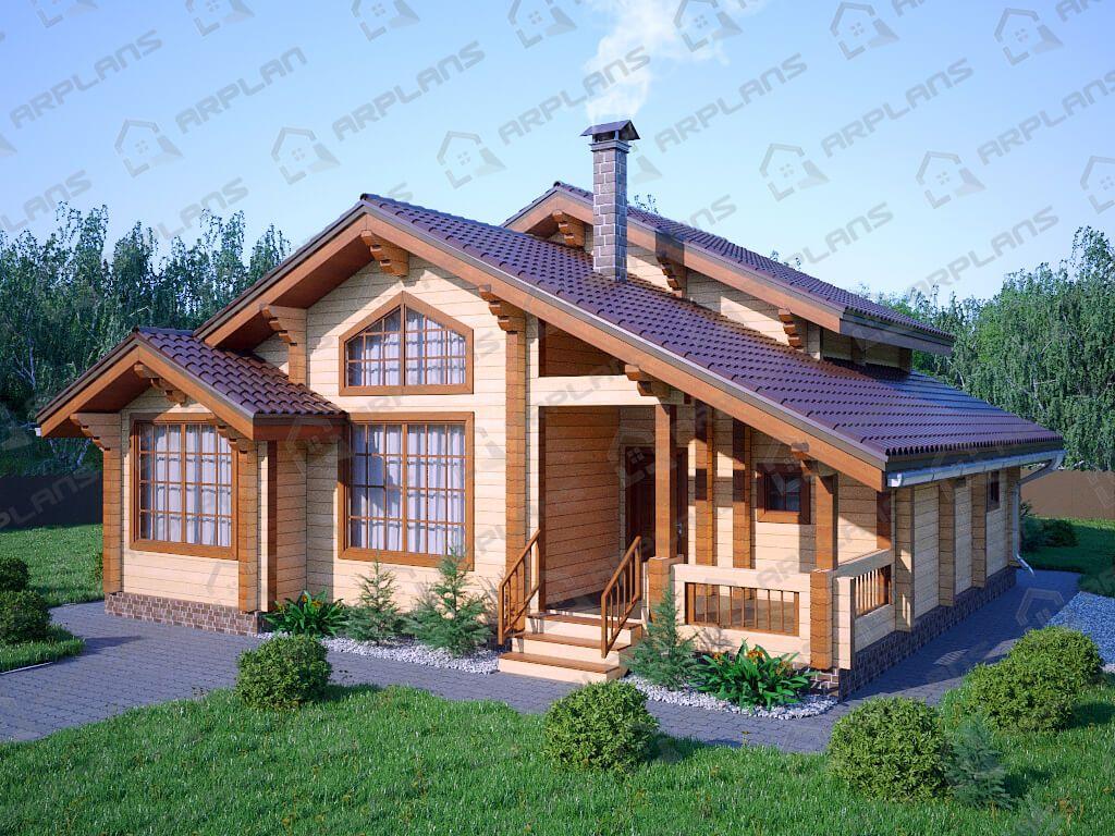 Дом 12х10 «ДОБ-082»