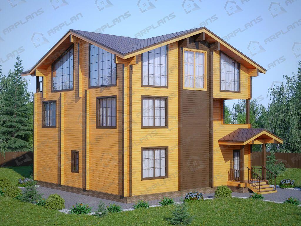 Дом 14х11 «ДОБ-068»