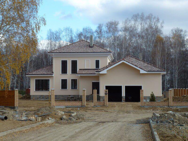 Строительство индивидуальных жилых домов с коммуникациями и отделкой