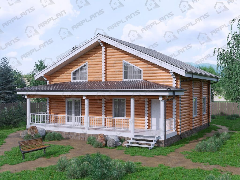 Дом 11х11 «ДБ-100»