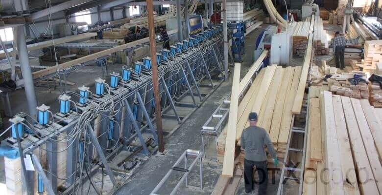Производство клееного бруса в Ярославле (Тутаеве)