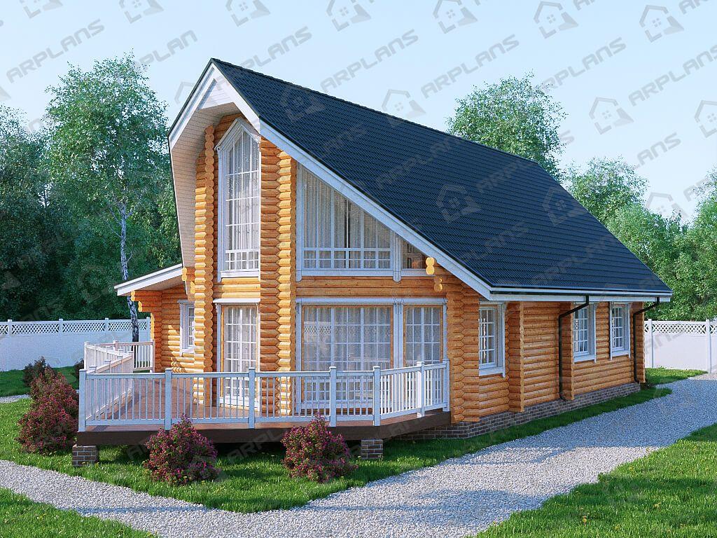 Дом 18х13 «ДБ-072»