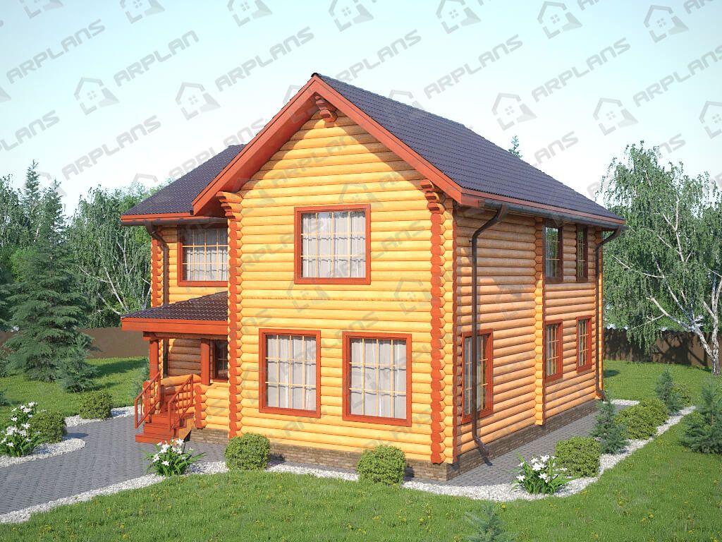 Дом 11х11 «ДБ-061»