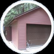 Установка на гараж секционных ворот и входных дверей