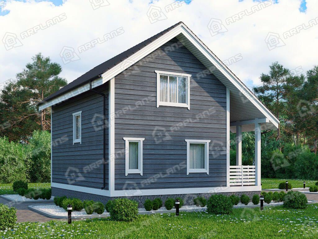 Дом 9х8 «ДК-059»