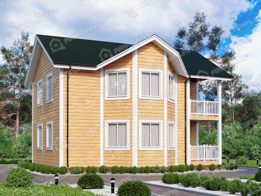 Дом 10х11 «ДК-057»