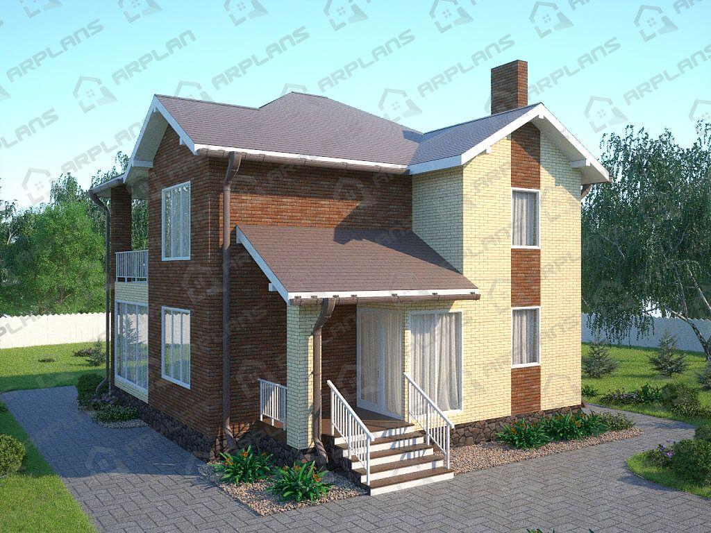 Дом 11х10 «ДП-128»
