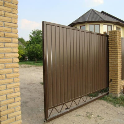 Ворота в Ярославле под ключ