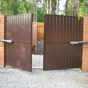 Распашные ворота в Ярославле