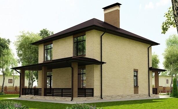 Дом 10х10 «С-153»